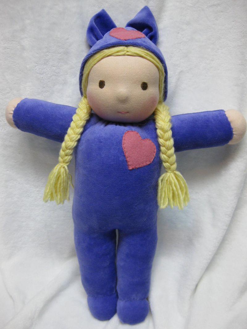 Custom doll dove wreath 011