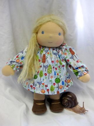 Girl Doll small blond
