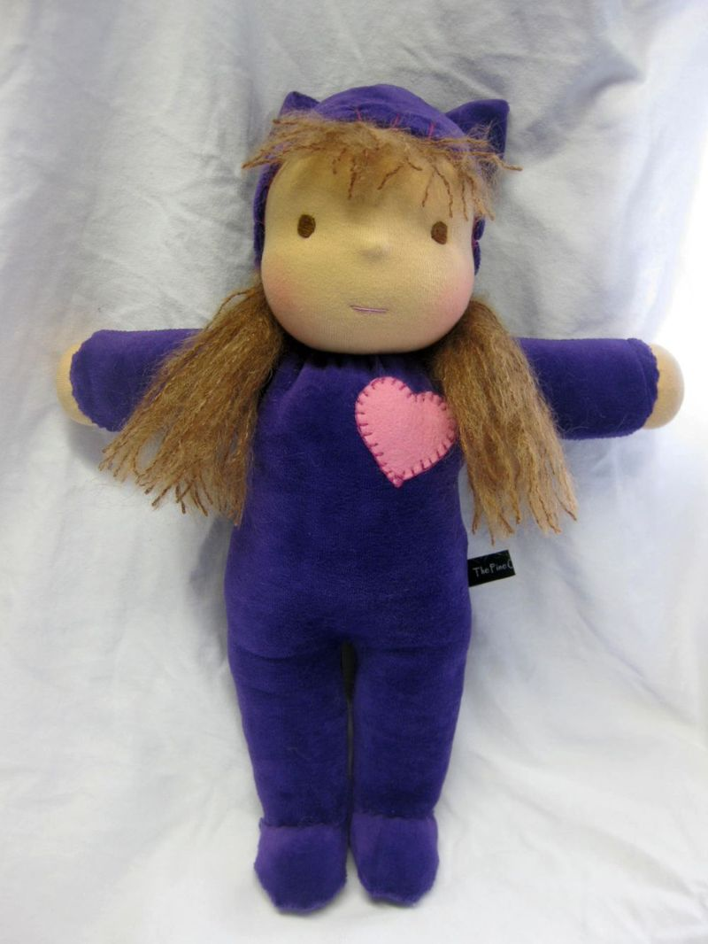 Lambkin Velour purple
